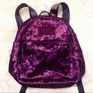 a2fbd85d446b0 🆕 PINK VS* Mini Velvet Campus Backpack Boutique